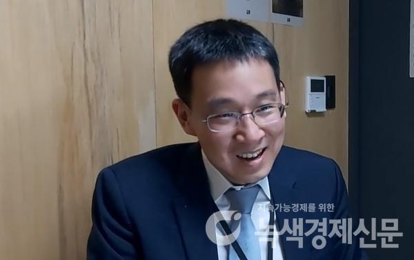김주진 대표 [사진=녹색경제]