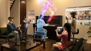[영상] 혼합현실로 피아노 레슨 받는다.. 日 테오미른